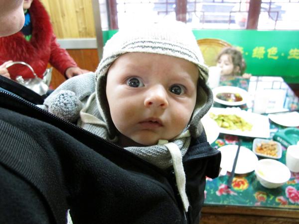Porter bébé par temps froid