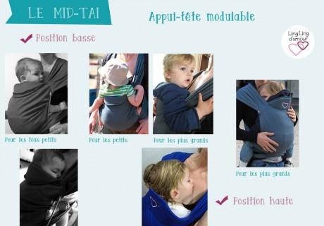 Mid-Taï – Appui-tête modulable