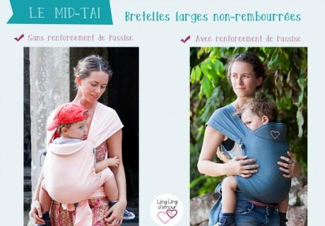 Mid-Taï – bretelles larges et non-rembourrées